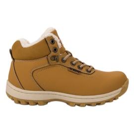 Ax Boxing žuti Izolirane treking cipele