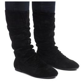 Crna Izolirane čizme Jodhpur čizme 288-94 crne