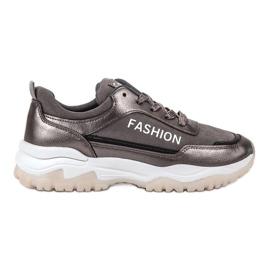 Ax Boxing Modne sportske cipele siva