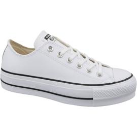 Bijela Converse Chuck Taylor All Star Lift Clean Ox W 561680C
