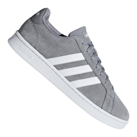 Siva Cipele Adidas Grand Court M F36412