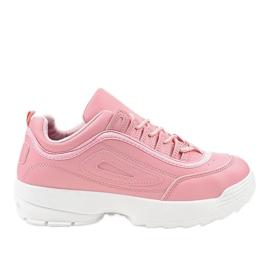 Roze Ružičaste sportske tenisice GL808