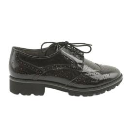 Čipkaste cipele Oxford Caprice 23701