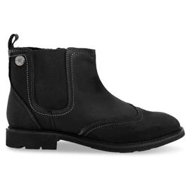 Crna Visoko izolirane niske cipele 4682 crne