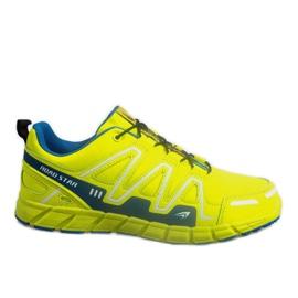 Žuti Treneri za sportske tenisice RS82716-4M GREEN / BLUE