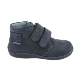 Dječačke cipele s Velcro Mazurek 341 mornarsko plave boje mornarica