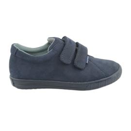 Dječačke cipele Velcro Mazurek 268 mornarsko plave boje mornarica