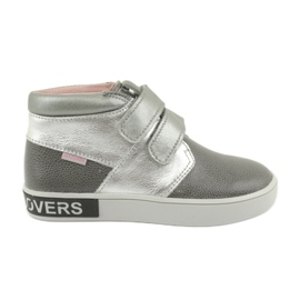 Mazurek FashionLovers čizme sive boje srebra siva