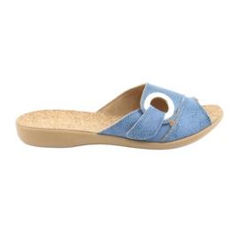 Plava Befado ženske cipele pu 265D015