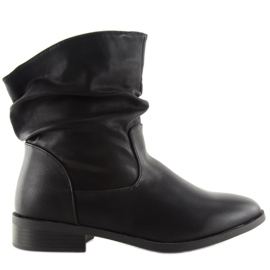 Crna Ženske čizme crne 1127-PA crne