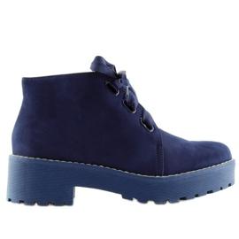 Čizme ženske cipele tamno plave LL219 plave mornarica