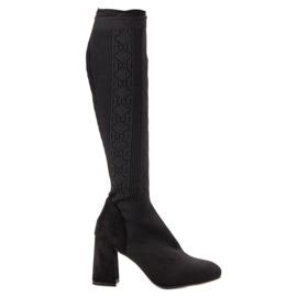 Seastar crna Crne čizme za crno