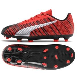 Puma One 5.4 Fg Ag M 105660 01 cipele crvene boje