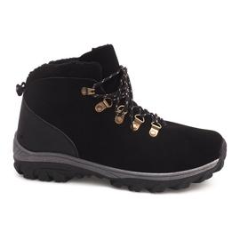 Crna Izolirane čizme za snijeg 83B crne