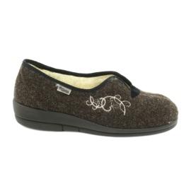 Smeđ Befado ženske cipele pu 940D356