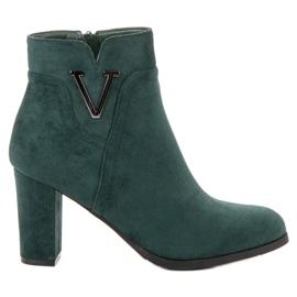 Vinceza Suede čizme u baru zelena