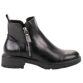 Vinceza Čizme s niskim gležnjama crna
