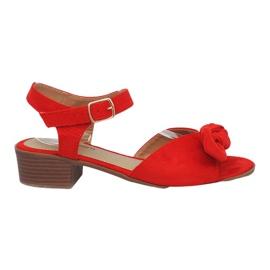 Crvena Crvene sandale s visokom petom