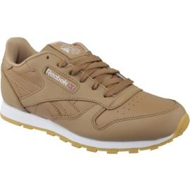 Smeđ Cipele Reebok Classic Leather Jr CN5610