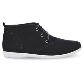 Crna Visoke elegantne cipele 3569 crne