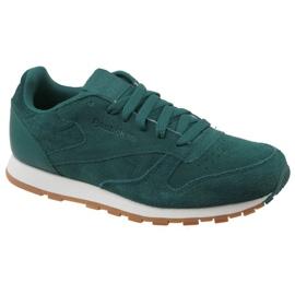 Zelena Reebok Cl Leather Sg JRCM9079 cipele