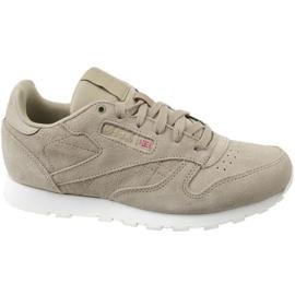 Siva Cipele Reebok Cl kože Mcc Jr CN0000