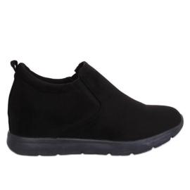 Crna Cipele na skrivenom klincu crne boje ZY-7K67 crne