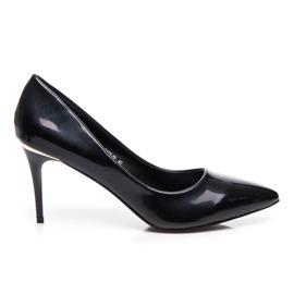 Small Swan Oslikane crnim visokim potpeticama crna