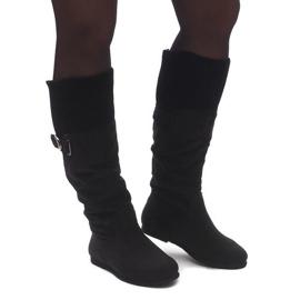 Crna Čizme Saszki Čizme SH11-094 Crne