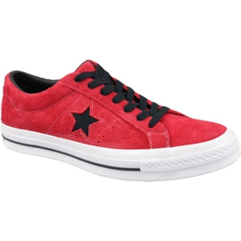 Converse One Star M 163246C cipele crvene boje crvena