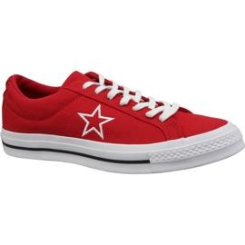 Crvena Converse cipele One Star Ox M 163378C crvene boje