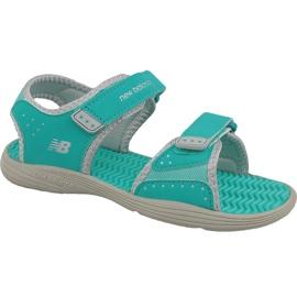 New Balance zelena Nove Balance Jr K2004GRG sandale plave boje