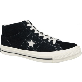 Converse One Star Ox Mid Vintage Suede M 157701C cipele crna