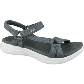Sandale Skechers On The Go 600 15316-CHAR sive siva
