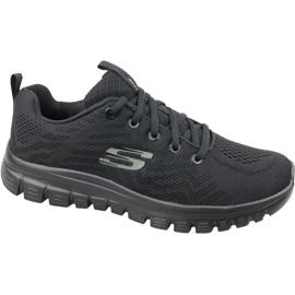 Skechers graciozno povežite se cipelama W 12615-BBK crna