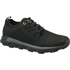 Crna Caterpillar cipele od metala s kožom M P723551