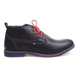 Visoka izolirana vezana cipela 86105 mornarica