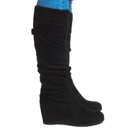 Crna Čizme Saszki čizme CN851 crne