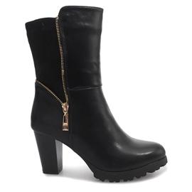 Crna Crne čizme FR59 crne
