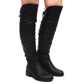 Crna Elegantne čizme F103 crne