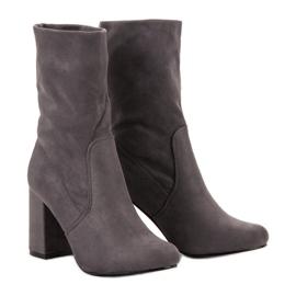 Super Mode siva Čizme za gležnjeve