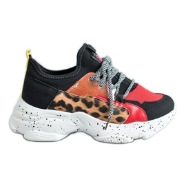 SHELOVET Leopard Print sportske cipele