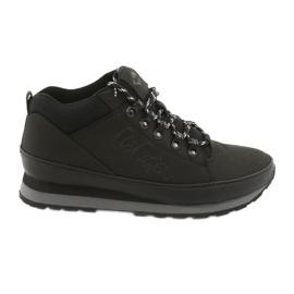 Crna Lee Cooper zimske cipele za muškarce 19-20-011 crne