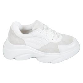 Seastar bijela Sportske cipele na platformi