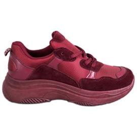 SHELOVET Maroon Sport Cipele crvena