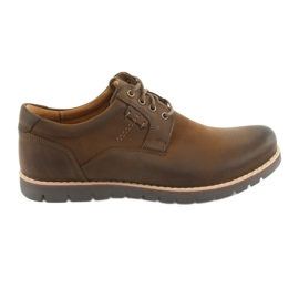 Čipkaste cipele Riko 761 smeđe