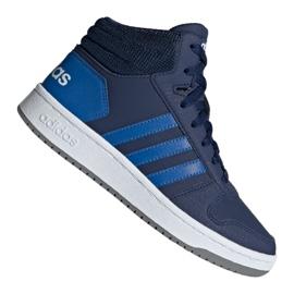 Cipele Adidas Hoops Mid 2.0 Jr EE6707 mornarica