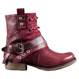 SHELOVET Čizme s mlazovima crvena