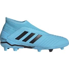 Nogometne cipele Adidas Predator 19.3 Ll Fg Jr EF9039