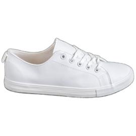 SHELOVET bijela Udobne tenisice